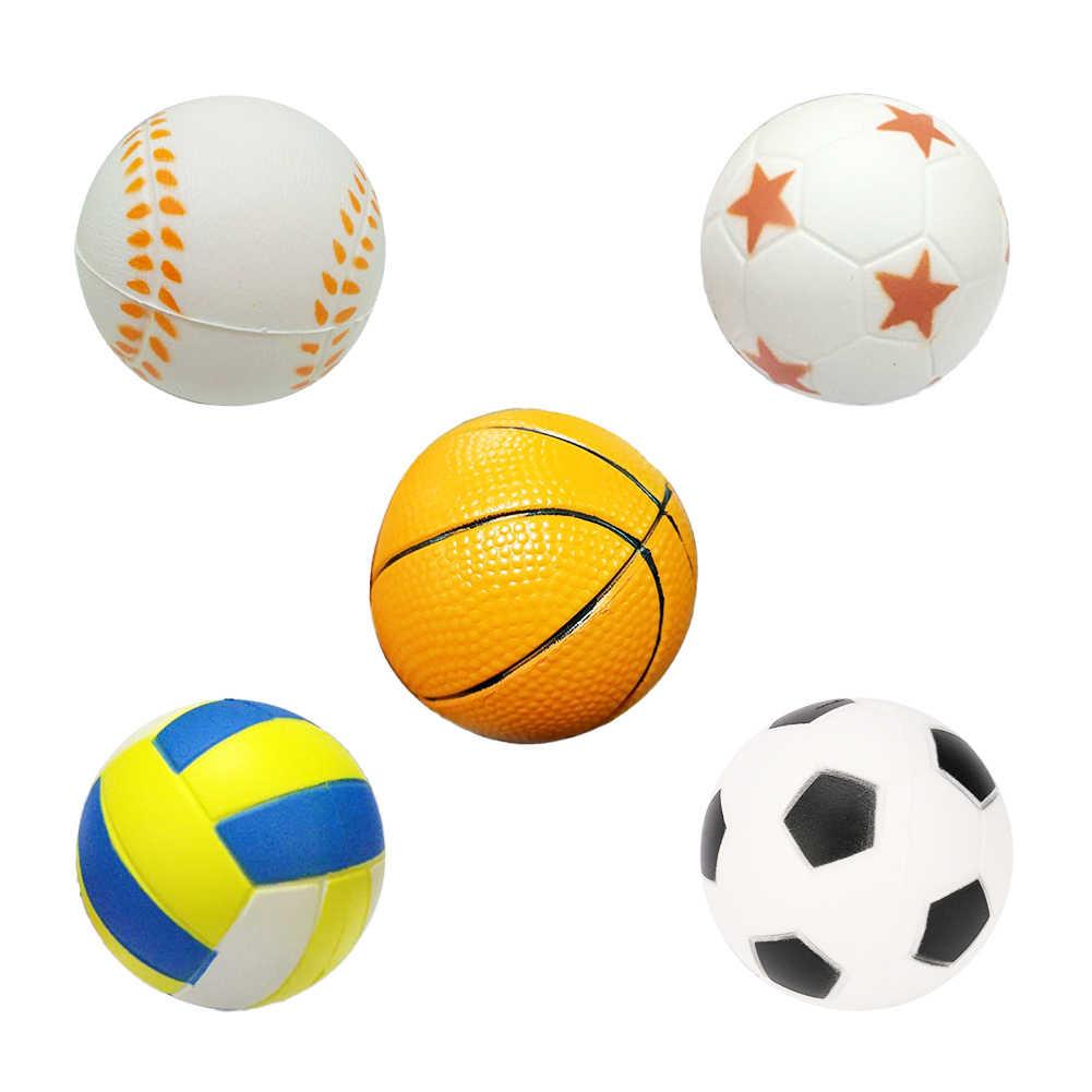 Detalle Comentarios Preguntas sobre Mano fútbol baloncesto béisbol  ejercicio suave elástico Squuze Anti estrés bola niño pequeño juguete bola  masaje adulto ... 0eaa912a18a46
