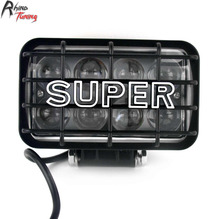 Rhino Tuning 2PC 40W Super Car Power Light LED Halogen Lamp Bulb Auto Working Light 6000K IP68 148(China)