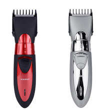 Professional Waterproof Men Baby Electric Hair Trimmer Red Cutter Beard Clipper Men's Body Care Tools With Stainless Steel Blade(China)