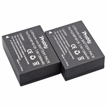Probty 2Pcs NP-W126 NP W126 NPW126 Rechargeable Battery For Fuji HS50 HS35 HS33 HS30EXR XA1 XE1 X-Pro1 XM1 X-T10 Camera