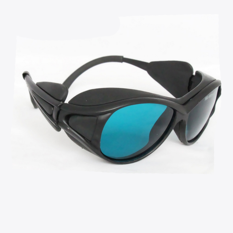 Red Laser Safety Glasses for 190-380nm &amp; 600-760nm 266, 632.8 694 755nm O.D 4+<br>