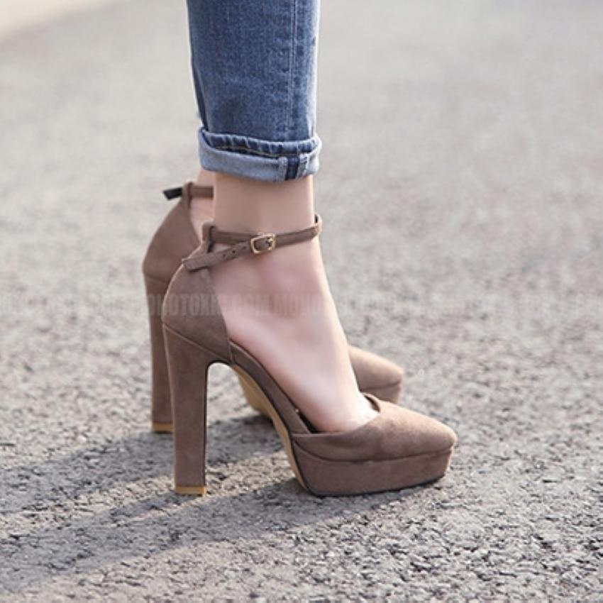 Brand Shoes Woman High Heels Pumps Platform High Heels 12CM Women Shoes High Heels Wedding Shoes Pumps Black Shoes Heels<br><br>Aliexpress