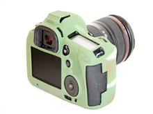 Camouflage Silicone Anti-skid Design Camera Case Lightweight SLR Camera Bag Case Cover For Canon EOS 5D Mark III 5D3 5DS 5DR