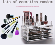 Makeup Case ACRYLIC Clear Cosmetic Organiser Display Box Jewelry box Acrylic Makeup case 4 Drawers