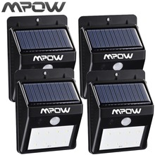 Mpow 8 LED Solar Energy Light Security Motion Sensor Led Solar Lamp Outdoor Garden Decoration Waterproof Driveway Lights(China)