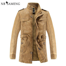 2017 New Men Casual Bomber Jacket Coat Outwear Military Brand Cotton-Padded Jacket Clothing Jackets Army Jacket NSWT142
