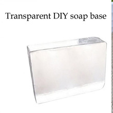 1KG High Quality Natural pure Transparent Soap Base DIY Handmade Soap Raw Materials Raw Materials melt and pour Base