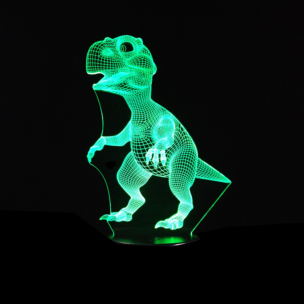 Dinosaur 3D LED Lamp 2