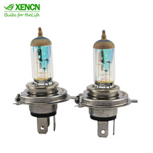 XENCN 12V White Diamond Light Car Colorful Headlights Replace Upgrade Halogen Lamp H1 H3 H4 H11 9005 9006 881 P21W 3156 3157 H6W(China)