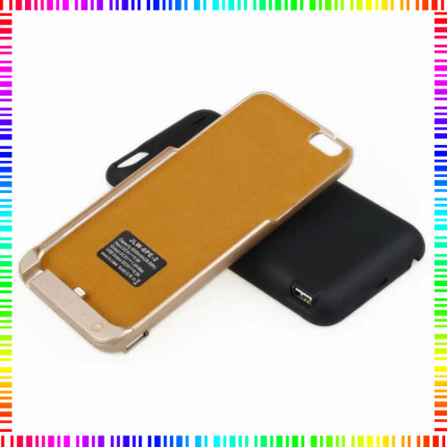 """100% high quality Brand JLW-6PE-2 8000 mAH ultra slim external backup battery cover for iphone 6 6S Plus 5.5""""Power Case Bank"""