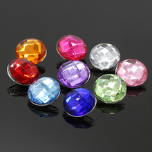 10pcs/lot Multicolor 18mm/20mm Plastic Snap Buttons Jewelry fit DIY Snap Bracelet Jewelry NA12-024