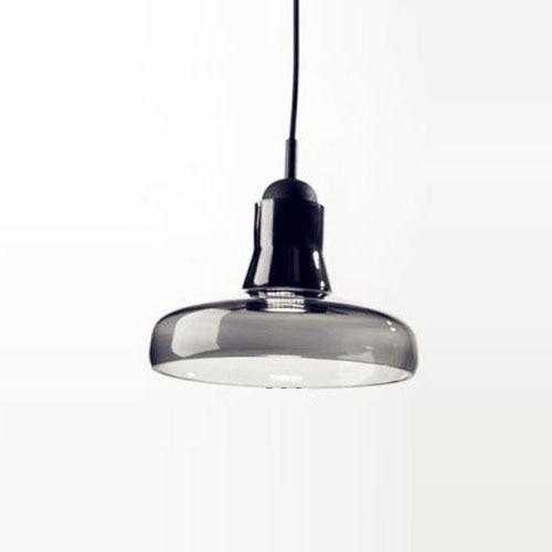 A-D7.87 x H5.5 Modern High Power LED Porch Pendant Lights Smoke Grey Glass Lampshade Creative Bar Counter Ceiling Pendant Lamp<br><br>Aliexpress