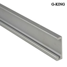 The concept of Qi plug-in single fan track rail mobile side mounted sliding door track furniture sliding door rail
