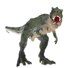 Jurassic World Park Tyrannosaurus Rex Dinosaur Plastic Toy Model Kids Gifts(China)