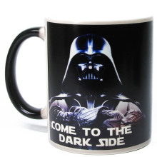1Piece Star Wars Darth Vader Heat Change Mug Morphing Coffee Mug The Force of Heat Color Changing Cup