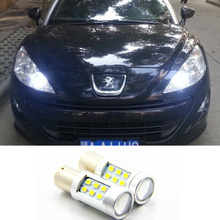 LED DRL Driving Daytime Running Day Fog Lamp Light For peugeot 308 peugeot 408 RCZ Citroen C4L Fiat Viaggio(China)