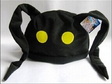 opp bag Kingdom Hearts plush hats black color about 60cm figure dolls free shipping