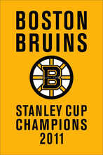Boston Bruins Stanley Cup Champions 2011 Flag Banner 3x5ft 90x150cm New Polyester NHL, free shipping(China)