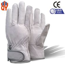 Free Shipping Good Quality Cow Grain Leather Working Gloves Safety Lot