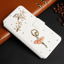 S5Mini Phone Case For Samsung Galaxy S3mini /S4 Mini /S5 mini S5mini Bling Case Diamond Wallet PU Leather Cell Phone Covers Bags