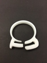 Manufacture plastic hydraulic pipe clamp for 73.5-76.5mm diameter tube(China)