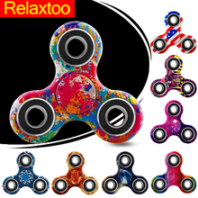 Buy Hand Spinner 27 Patterns Spinners Luminous Fidget EDC Tri-Spinner Finger Toys Stress Autism ADHD Spinner-hand Fast Bearing for $2.29 in AliExpress store