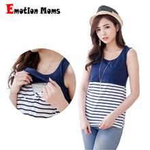 Emotion Moms Nursing Maternity Clothes Maternity Tops&Tanks nursing tank top pregnancy breastfeeding clothes for Pregnant Women(Hong Kong)