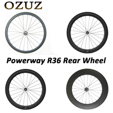Buy Powerway R36 OZUZ 700C 24mm 38mm 50mm 60mm 88mm Clincher Tubular Carbon Road Bike Bicycle Carbon Wheels Racing Rear Wheel for $349.00 in AliExpress store