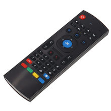 2.4G Remote Control Gyroscope Fly Air Mouse Mini Wireless Keyboard Handheld IR Learning for Android TV Box HTPC PC(China)