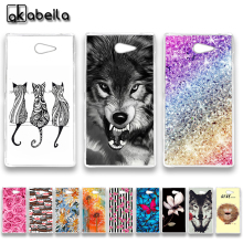 Buy AKABEILA Soft TPU Plastic Phone Cases Sony Xperia M2 S50H D2303 D2305 D2306 dual D2302 4.8 inch Covers Nutella Flamingo Bags for $1.28 in AliExpress store