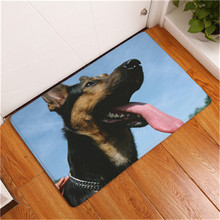 2017 New Cute Dog  Print Carpets Bathroom  Mats  Anti-Slip  Rugs 40x60cm 50x80cm Anti-Slip  Floor  Mats