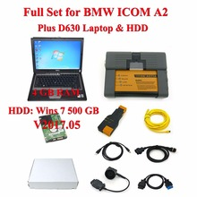 High Quality for BMW ICOM A2+B+C Diagnostic Tool + D630 Diagnostic PC With V2017.09 Software HDD Installed Fast Shipping(China)