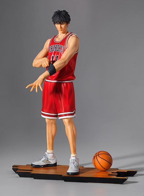 23cm Slam Dunk Shohoku 11 Figure Rukawa Kaede PVC anime SlamDunk Action Figure basketball<br>