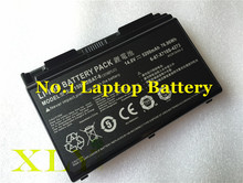 X710S 8cell 5200mAh Genuine Original Battery CLEVO P170HM P170 P150HMBAT-8 Series 6-87-X710S-4271/4272 6-87-X710S-4J7 Laptop(China)