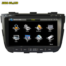 NaviTopia 8 inch Professional Wince Car Radio DVD Player For KIA Sorento 2013- With GPS Navigation free Map(China)