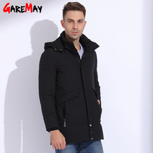 Down Coat Male Duck Down Jackets Man Winter Coat Parkas For Men Warm Cloting Casual Hooded Jackets Business Big Size GAREMAY(China)