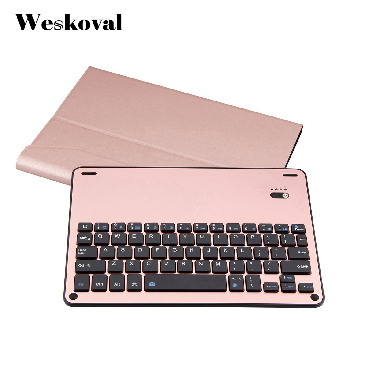 For iPad Pro 10.5 inch Wireless Bluetooth Keyboard Case For iPad Pro 10.5 Tablet Flip Leather Stand Cover Capa Fundas+Stylus<br>