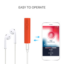 Bluetooth Receiver,Hands-Free Car Kits, Mini Wireless 3.5 mm Music Audio Stereo Adapter Receiver Car Speaker MP3 Mic