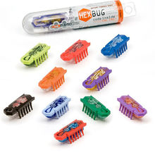 10Pcs/set Fun Nano Hexbug Electronic Pet Toys Robotic Insect For Children Practical Jokes Toys Newest Amazing Hex bug Toys(China)