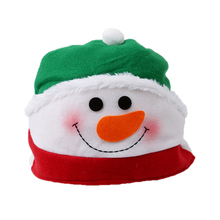 Santa Claus Hat Christmas Oldman Snowman Deer Hats Sets Christmas Party New Year Decoration Party Cospaly Xmas Gifts GI890047