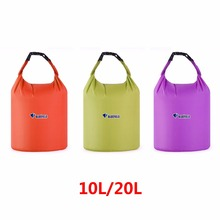 Bluefield 10L/20L Outdoor Swimming Waterproof Water Bag Camping Snorkeling Rafting Storage Dry Bag with Adjustable Strap Hook(China)