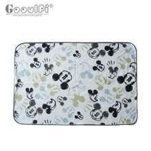 2017 Limited New Swaddle Baby Blanket Fleece Baby Receiving blanket Mickey Printed Kids Bedding Pram Size Infant Wrap Newborn(China)