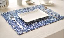 Eco-friendly Place Mat Linen Coffee Mats Pads Placemat Dining Table Mats Table Pad Coaster Table Decoration Kitchen wares(China)
