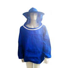 Durable Beekeeping Jacket Veil Smock Equipment Supplies Bee Keeping shirt Hat Sleeve Suit High-quality Cotton coat clothesd50(China)