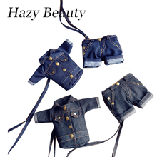Hazy beauty New necklace denim handbag super chic mini coin bag jeans fabric lady handbags good looking light girls bag DH719