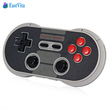 EastVita Original 8Bitdo NES30 Pro Wireless Bluetooth Gamepad Game Controller for iOS Android PC Mac Linux SH5