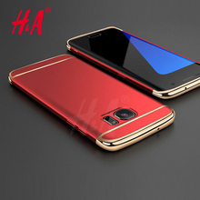 H&A Luxury Electroplating Phone Cases For Samsung Galaxy S7 S7 Edge Case Full Coverage Case For Samsung Galaxy S7 edge Cover