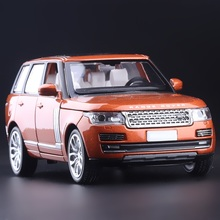 High Simulation Exquisite Collection Toys: CaiPo Car Styling Range Rover Off-Road Model 1:32 Alloy SUV Car Model Best Gifts(China)