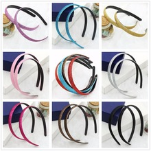 20pcs/lot 10 colors Girls Hair Clasp Headband For Glitter Cover Plastic Non-slip Hair band Girls Hair Accessories