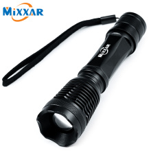 ZK54 Portable XM-L T6 4000LM Tactical CREE LED Torch 5 Modes Zoomable LED Flashlight Torch Light for Rechargeable 18650 Battery
